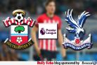 Saints v Crystal Palace: AS IT HAPPENED