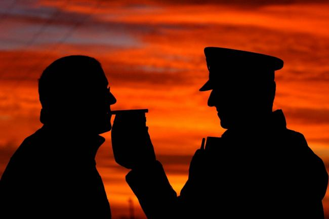 Southampton man caught almost three times over the drink drive limit. Photo credit: John Giles/PA Wire.