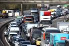 Traffic on the M27 (stock photo)