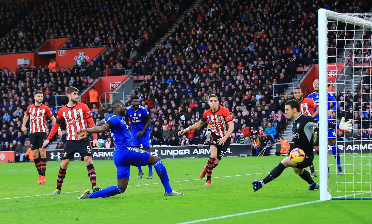 Saints 1 Cardiff City 2:  Injury-time winner stuns St Mary's