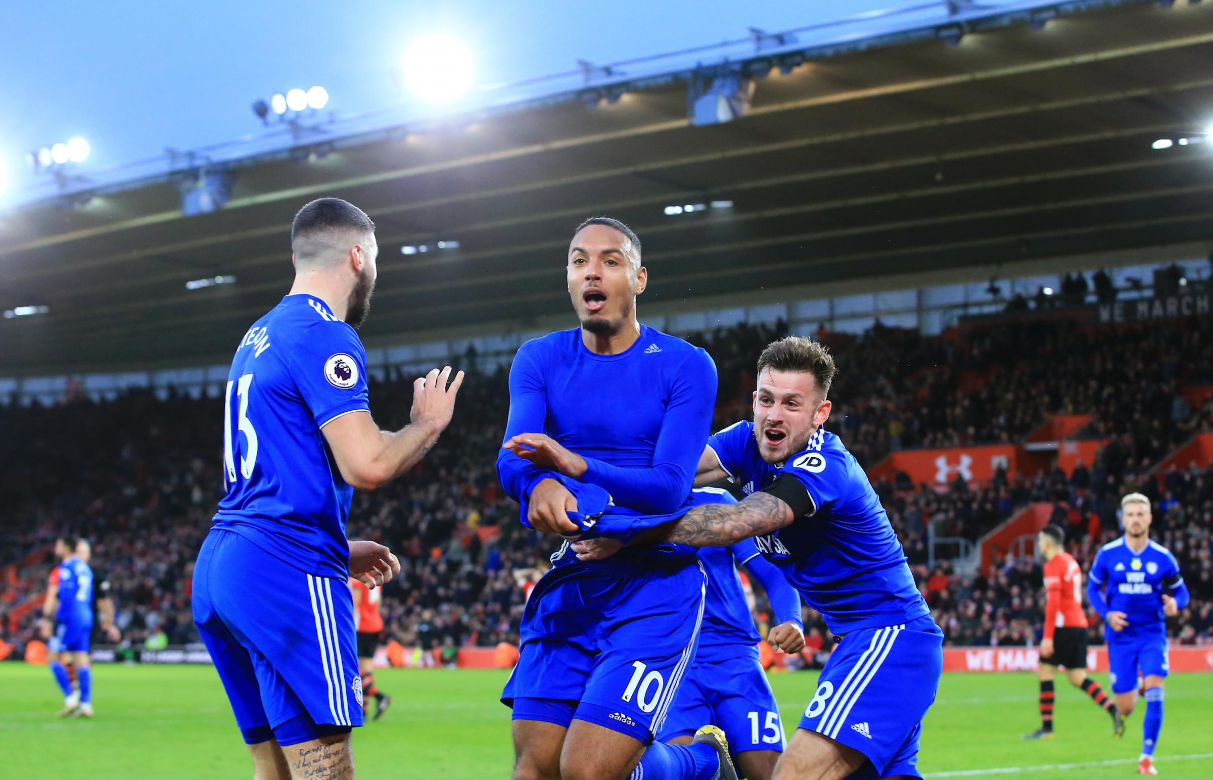 Kenneth Zohore  celebrates his injury-time winner