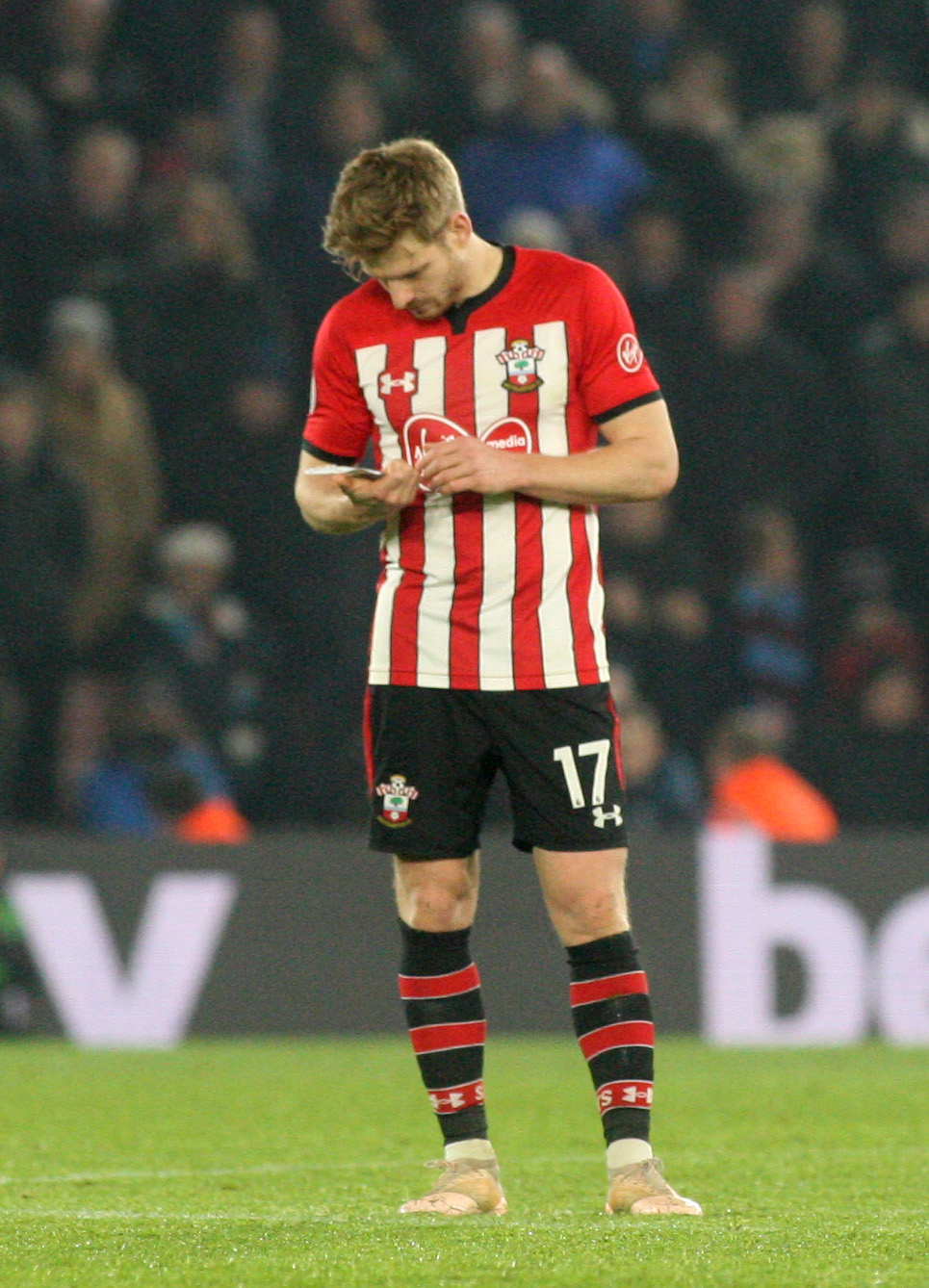 Stuart Armstrong stars in Saints' hilarious Valentine's Day message