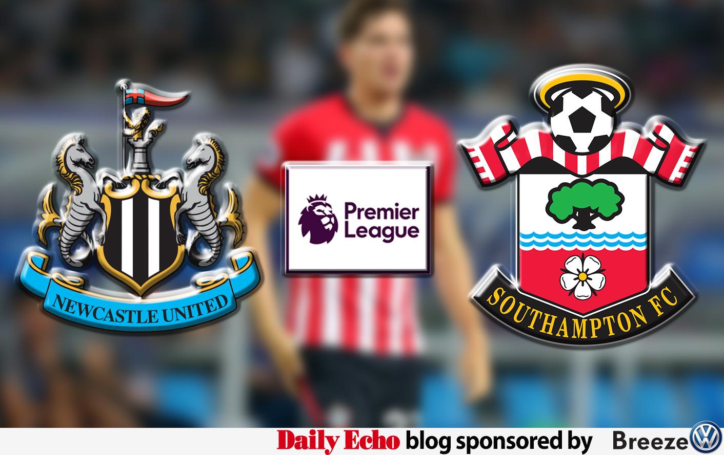 Newcastle v Saints: AS IT HAPPENED
