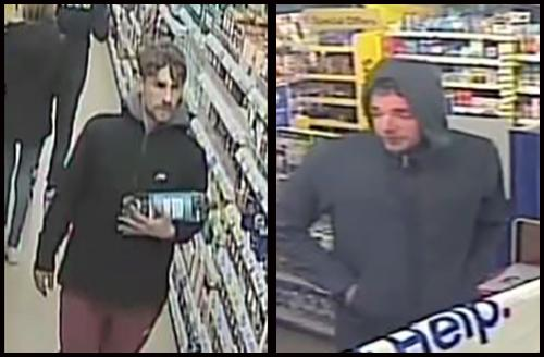 Police want to speak to these men after a