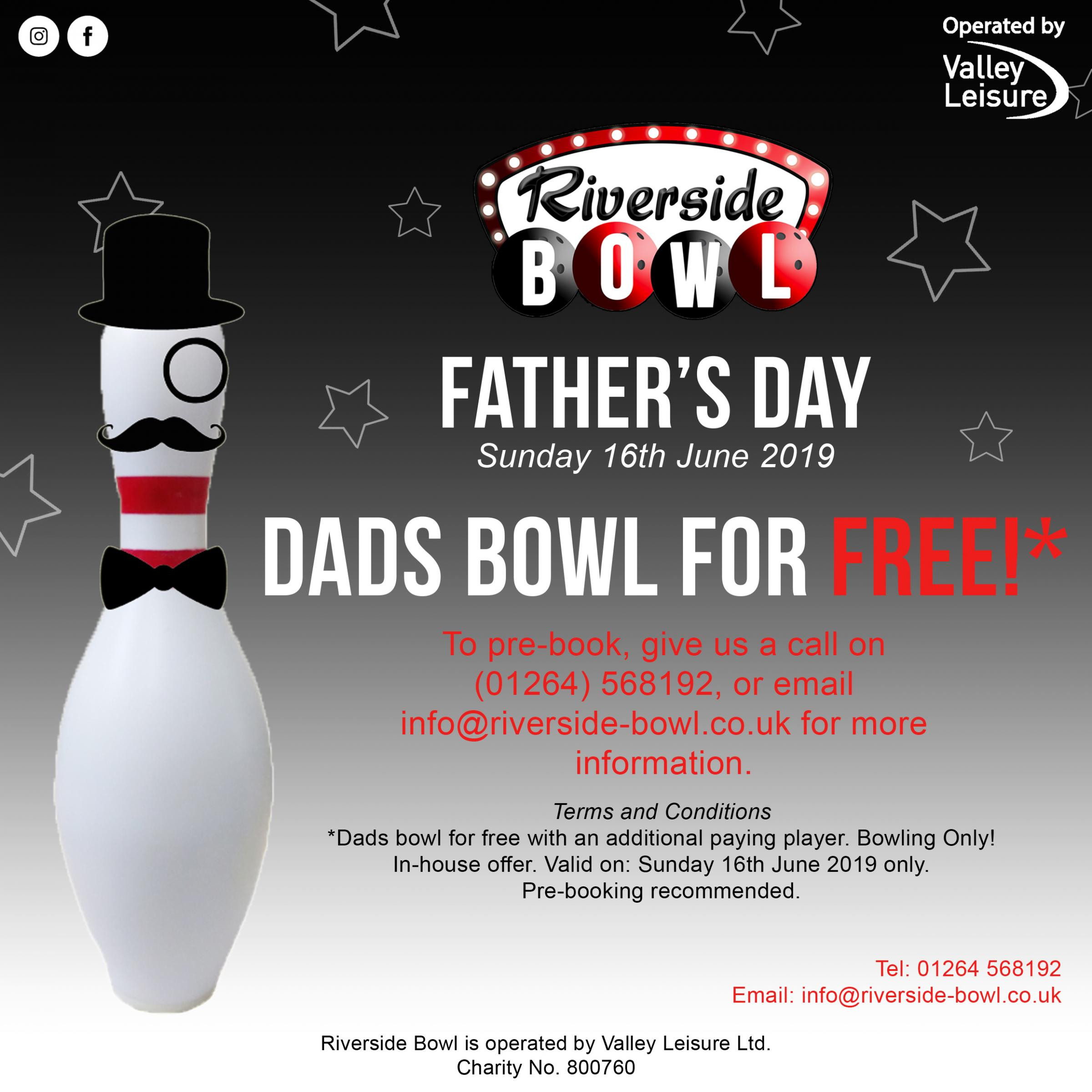Father's Day: Dad's bowl for free!