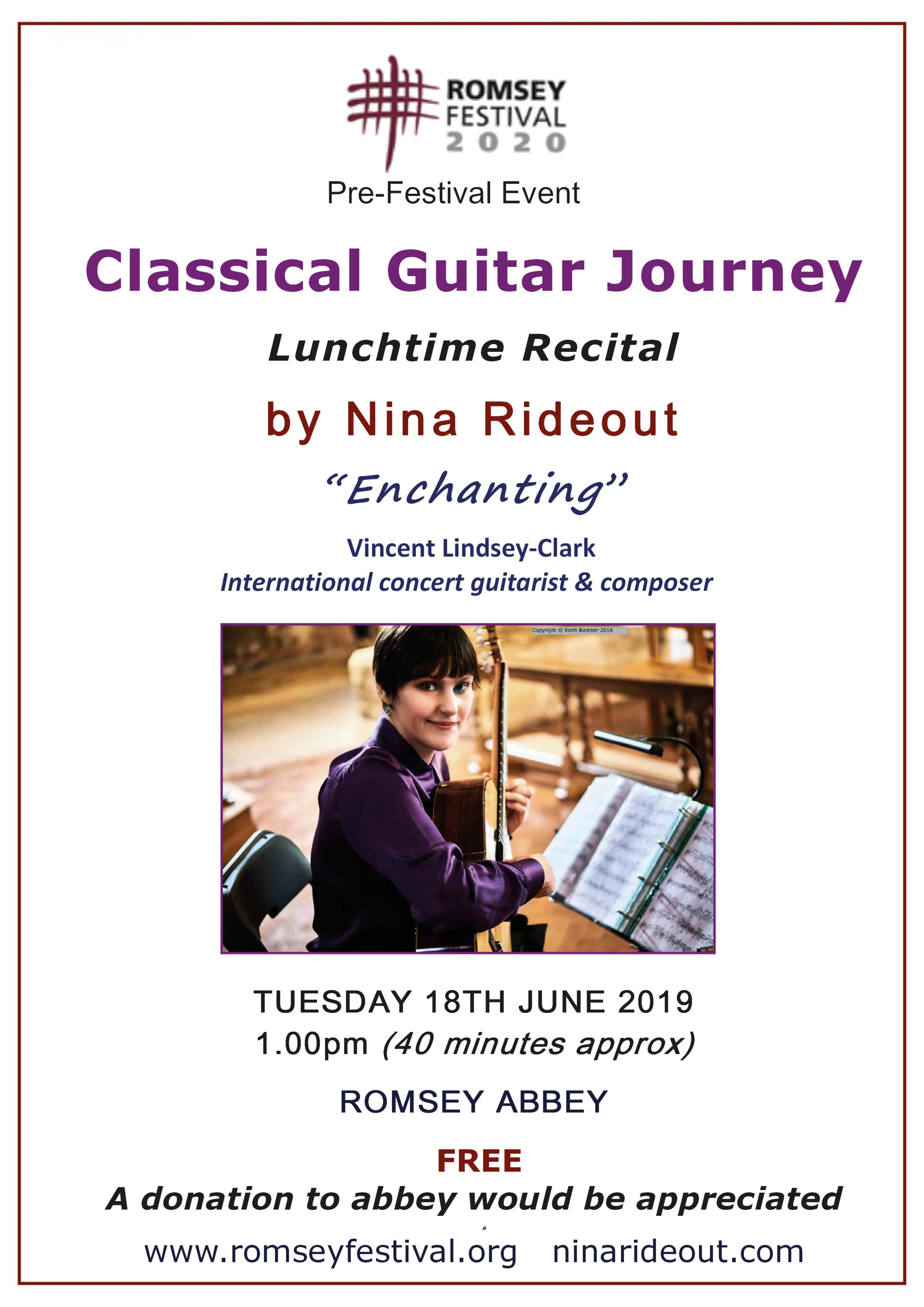 Classical Guitar Journey - lunchtime recital