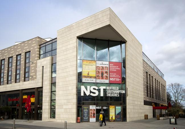 NST Nuffield Southampton Theatre in Guildhall Square Southampton.