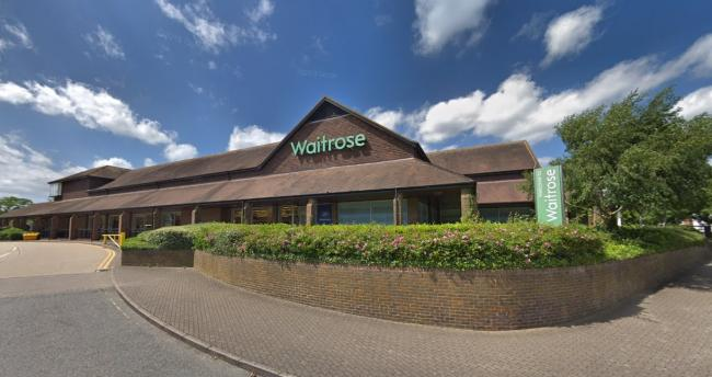 The Waitrose store in Stanford Hill, Lymington. Picture: Google.